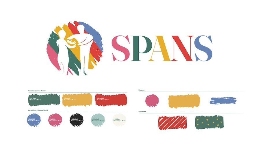 SPANS brand identity