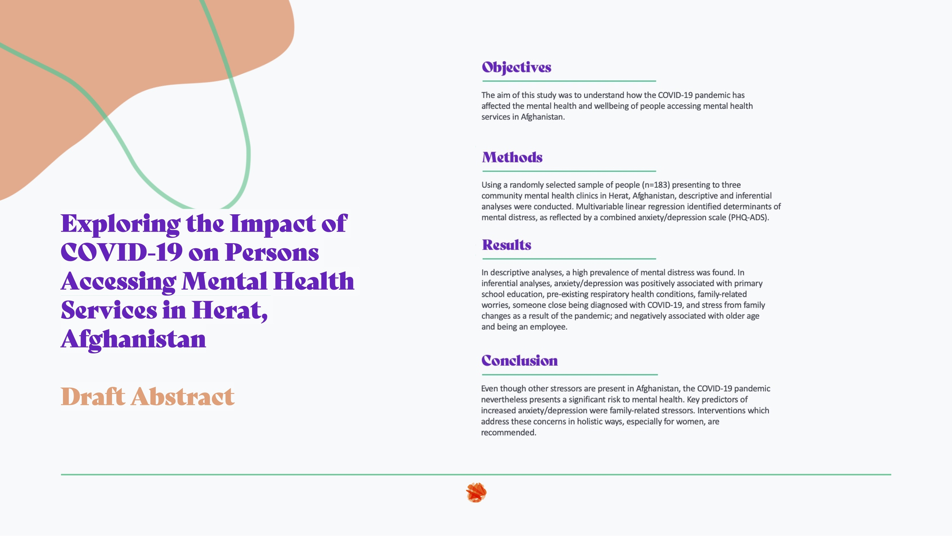 CBMHP research project