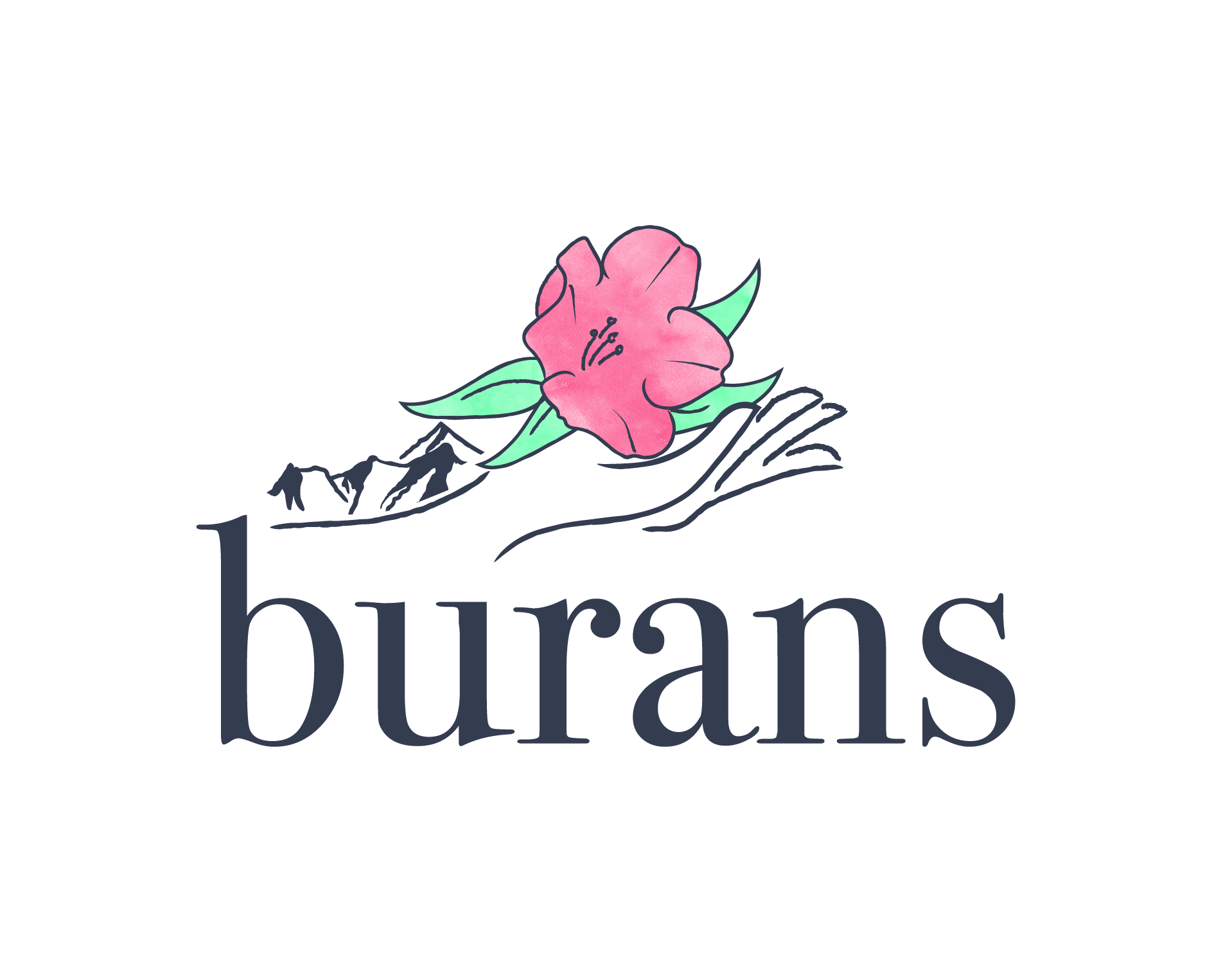 Burans brand identity