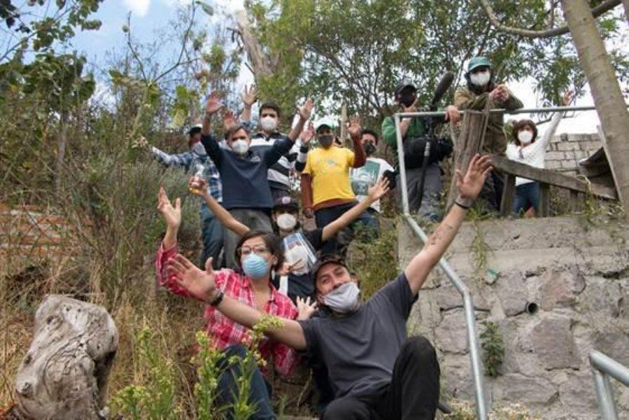 COVID-19 Historias de cambio: Huertomanías, Ecuador